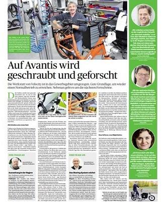 Aachener Nachrichten Beileger Velocity