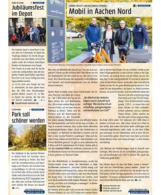 Magazin Aachen Nord: Cambio, Velocity und die Carolus Thermen - Mobil in Aachen Nord