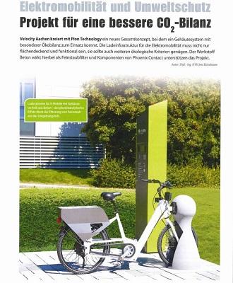 2016 emobility tec: Elektromobilität und Umweltschutz Projekt für eine bessere Co3-Bilanz