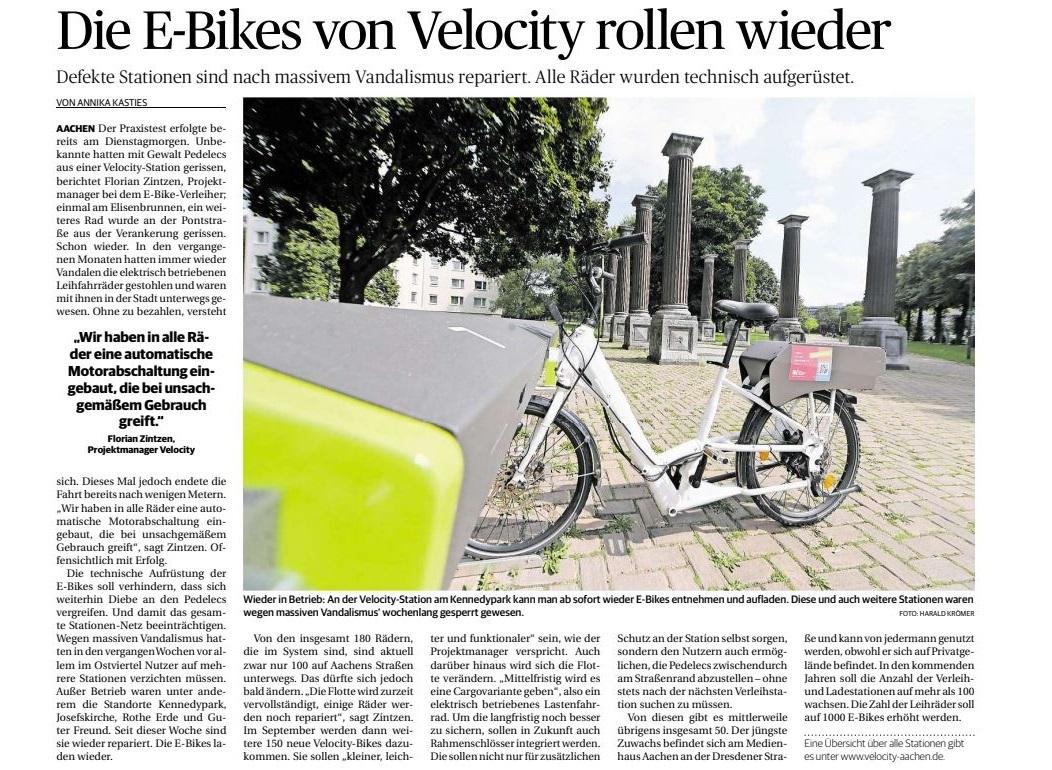 Aachener-Nachrichten-Die-E-Bikes-von-Velocity-rollen-wieder