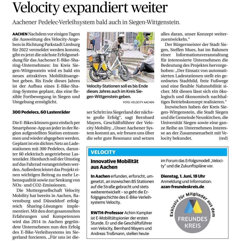 aachener-zeitung-velocity-expandiert-weiter